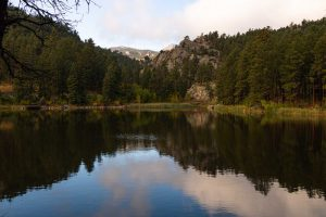 A view of Horse Thief Lake — another gorgeous thing to do near Rapid City