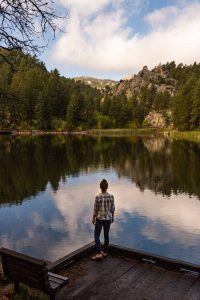 A photo of Horse Thief Lake which is a scenic thing to do in Rapid City