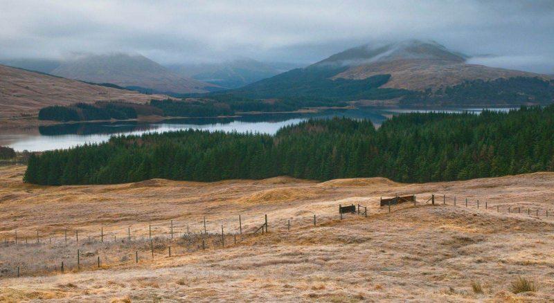 Scotland road trip, visiting Loch Tulla