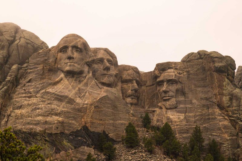 A photo of Mount Rushmore is another thing to do in Rapid City