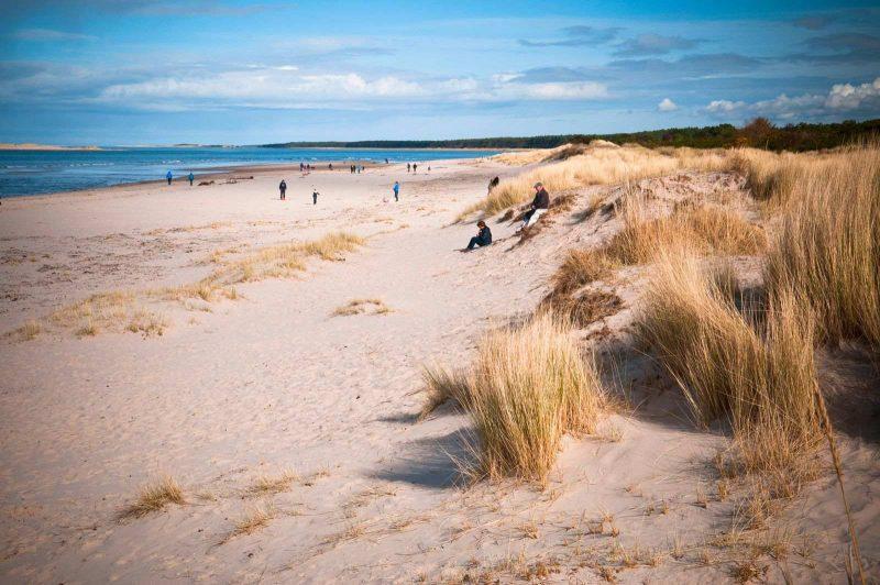 Nairn Beach, Scotland road trip