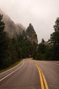 A photo of Needles Highway — just one of many spectacular things to do around Rapid City