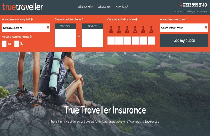True Traveller is one type of long trip travel insurance