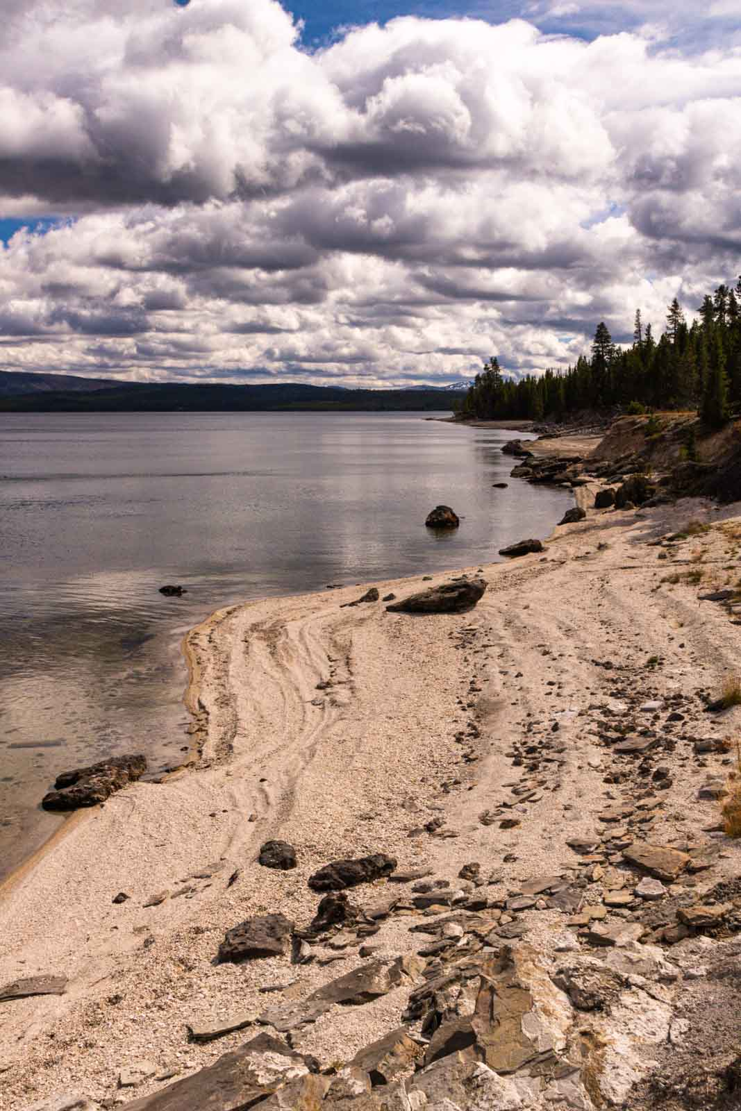 West Thumb Geyser Basin is another must for any Yellowstone itinerary