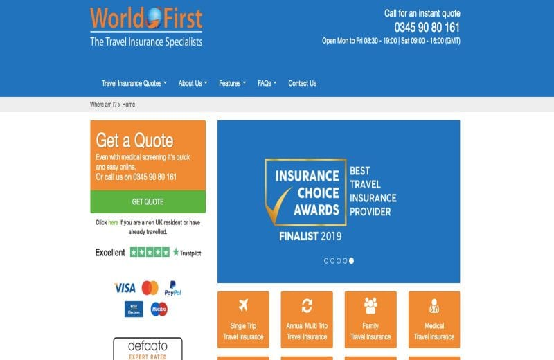 World First is excellent choice for long stay travel insurance