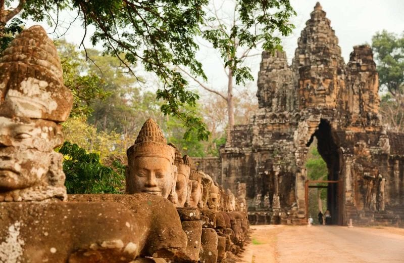 One of the cheapest countries to visit in Southeast Asia is Cambodia.