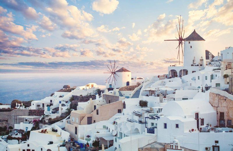 Greece is a stunning location to get a working holiday visa for Canadians.