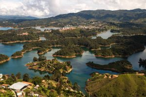 Don't forget to check out the stunning view of El Penol on your day trip from Medellin.