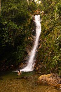 Waterfall near Medellin, Colombia