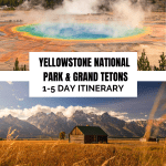 Yellowstone and Grand Teton National Parks Guide