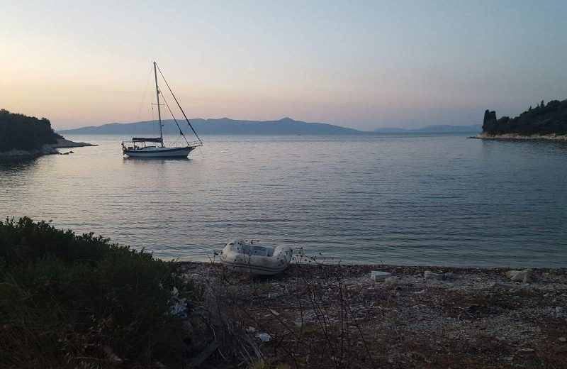 Add Abelike Bay in Meganisi to your list of Greek Island hopping routes.