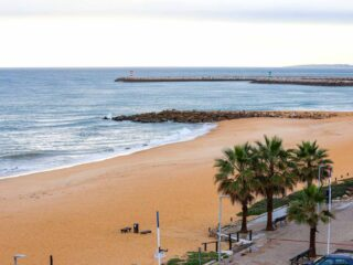 Algarve, Portugal beach view