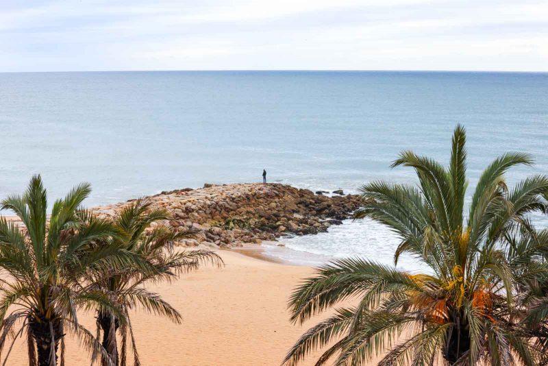 Algarve beach point