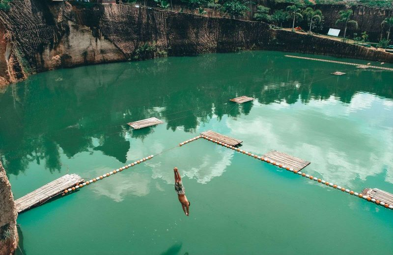 Pro Thailand tip: Jump in the Chiang Mai Quarry.
