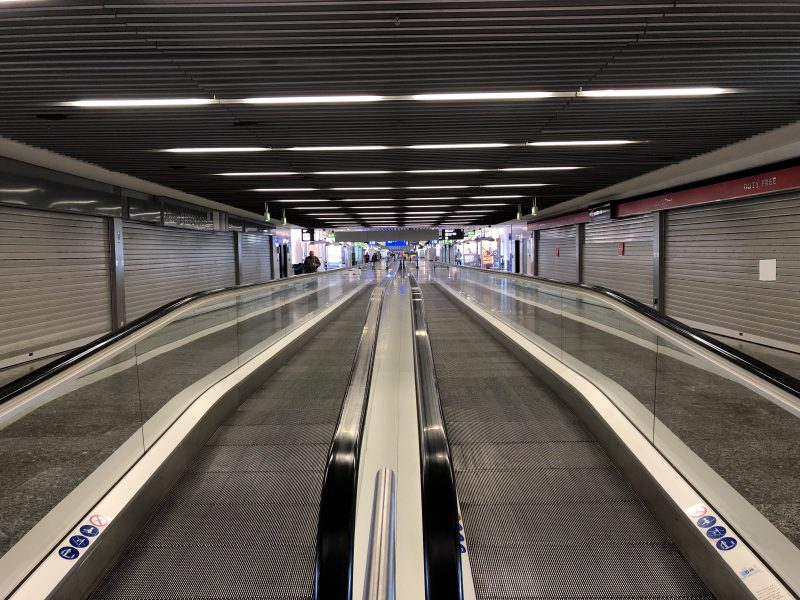 Frankfurt Airport - empty!