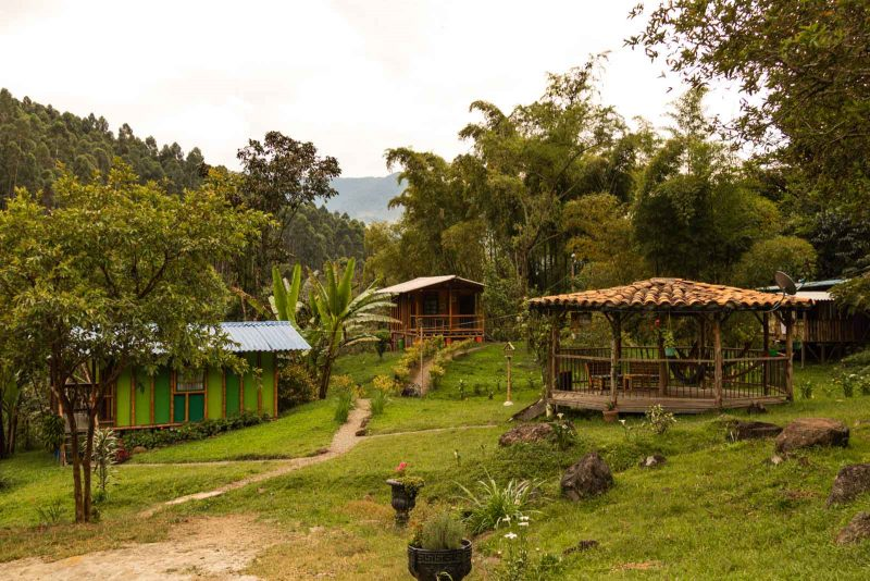 Cascabella Lodge in Jardin, Colombia.