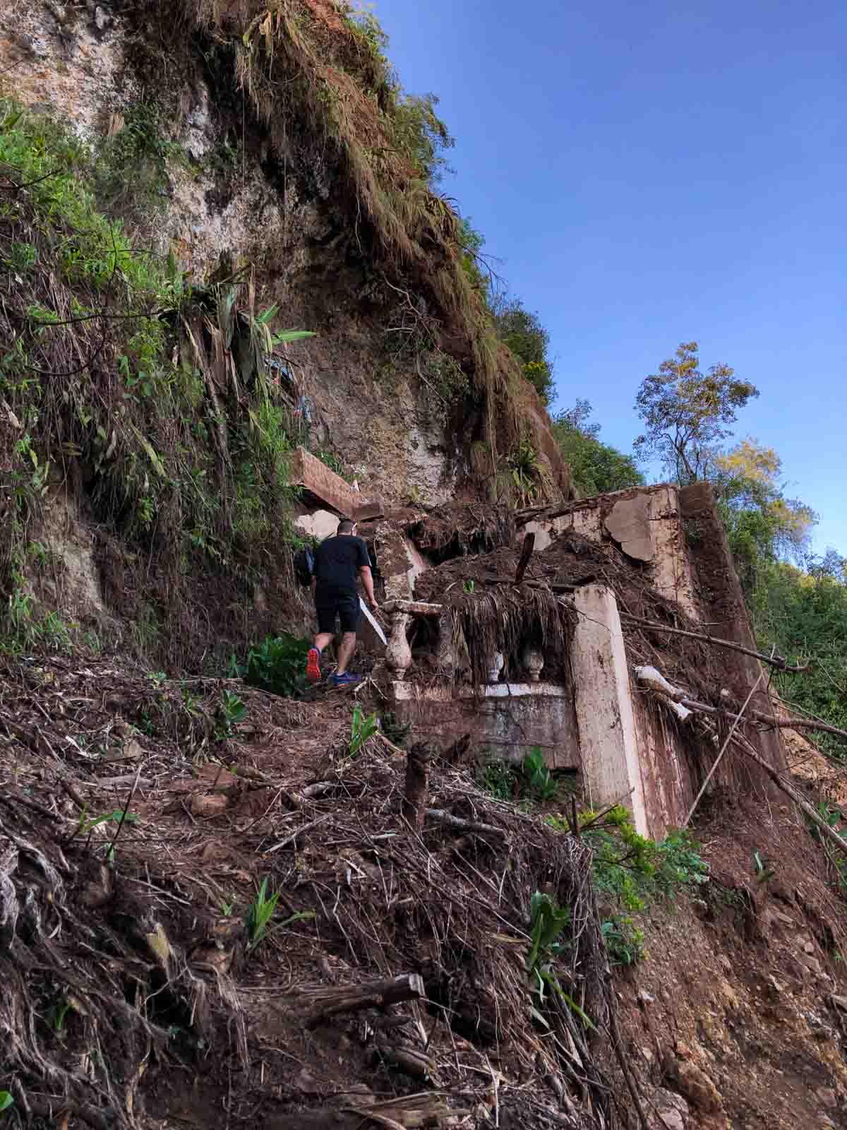 The Cerro Las Nubes hike in Jerico, Colombia was adventurous.