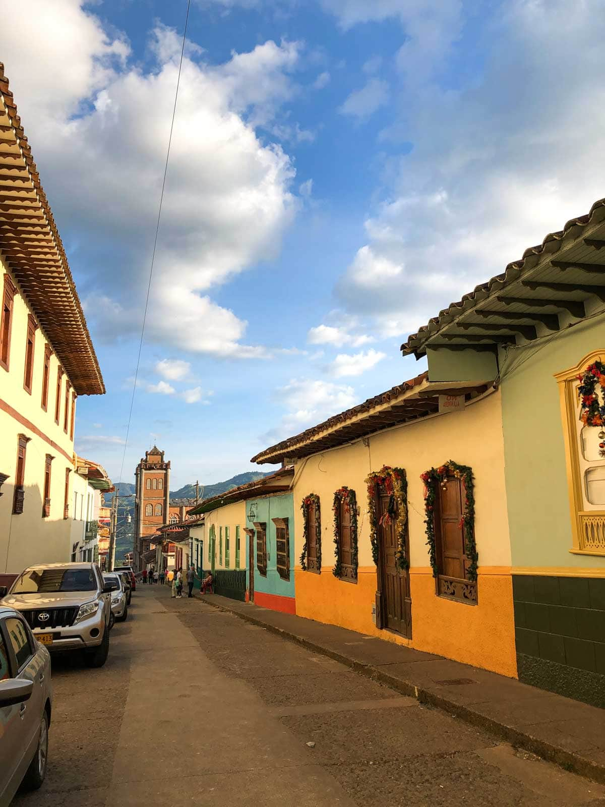 Don't forget to check out these street churches in Jerico, Colombia.