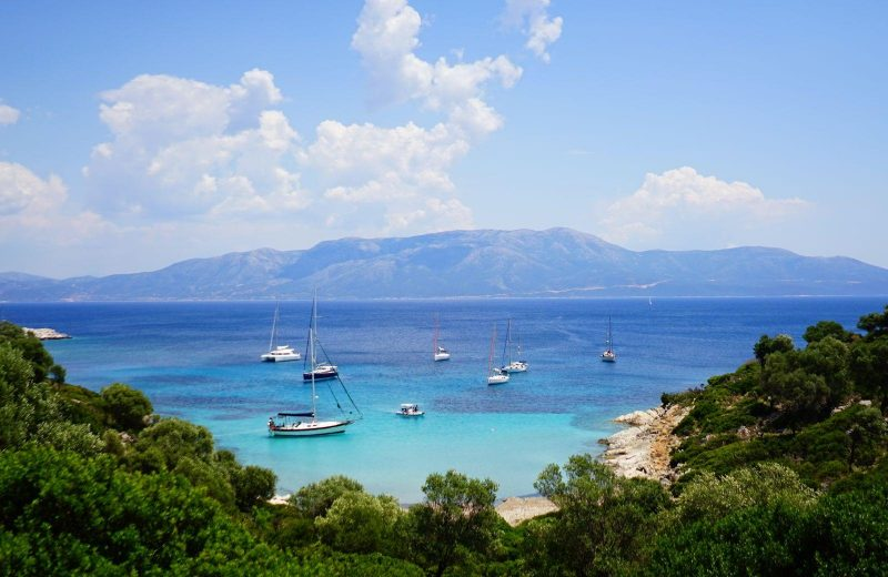 Don't forget to stop in Kastos when sailing the Greek Islands.
