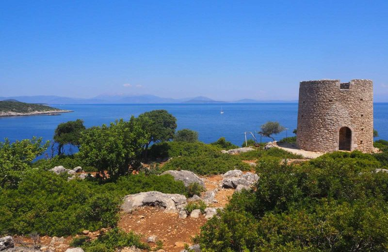 These windmills in Kioni are a must stop when sailing the Greek islands.