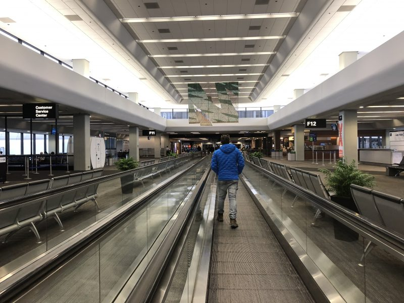 San Francisco Airport - empty!
