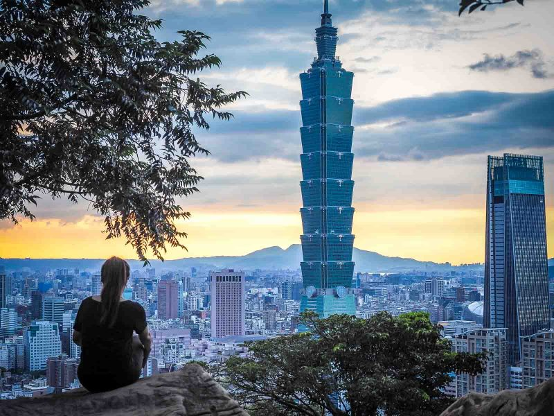 Taipei is a beautiful city for teaching in Taiwan.
