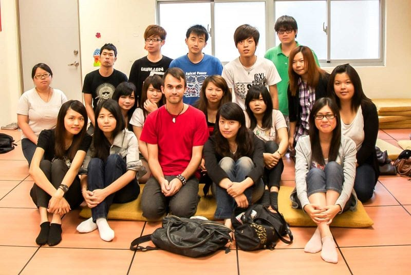 I was an English teacher in Taiwan to college kids also.