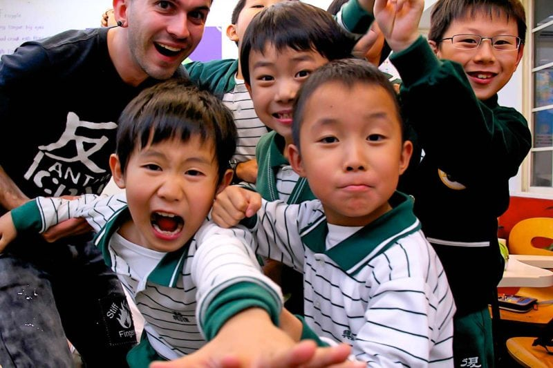 Teaching in Taiwan is a rewarding experience.