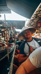 Another tip for Thailand is to visit a local market.