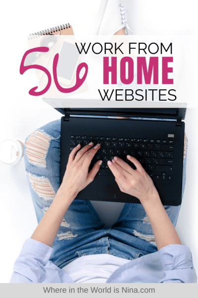 56 Work from Home Job Sites