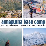 Hiking to Annapurna Base Camp Without a Guide