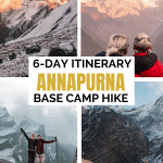 6 Day Annapurna Base Camp Hike Without a Guide