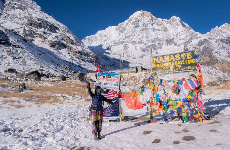 Completing the Annapurna Base Camp Trek was an amazing feeling.
