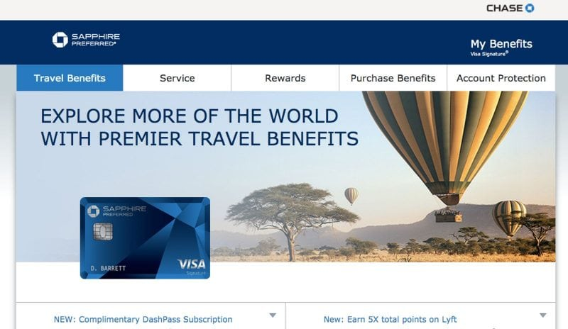 Chase Sapphire Preferred is the perfect card for beginner level travel hacking.
