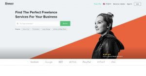 Fiverr is a popular tool to find work for freelancing for beginners.