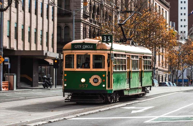 A free thing to do in Melbourne is to ride the free tram and it allows you to explore the CBD area.