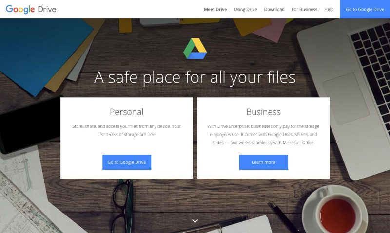 A free online tool that's good for storage is Google Drive.