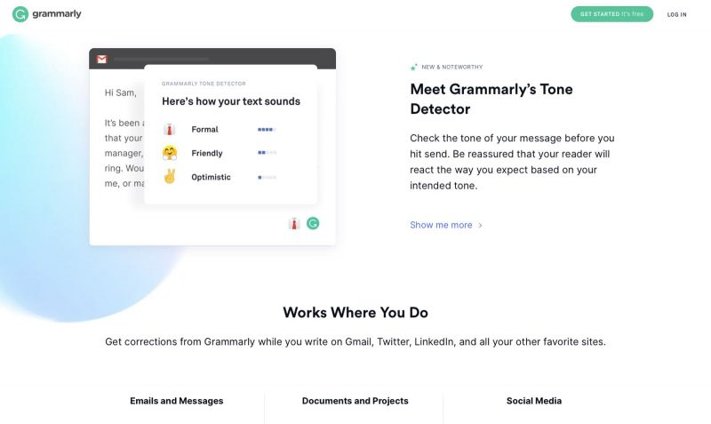 Grammarly is another one of my favorite free online tools that everyone should have.