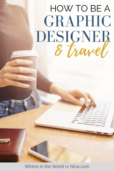 How to Become a Remote Graphic Designer and Travel the World