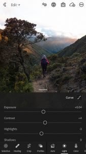 Lightroom is a free online tool to use to edit photos.