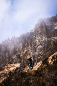 A guide is required when doing a Los Nevados trek.