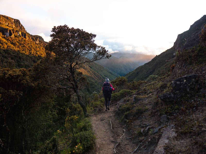 Hiking Paramillo del Quindio was very difficult at times, but the sunset was worth it.