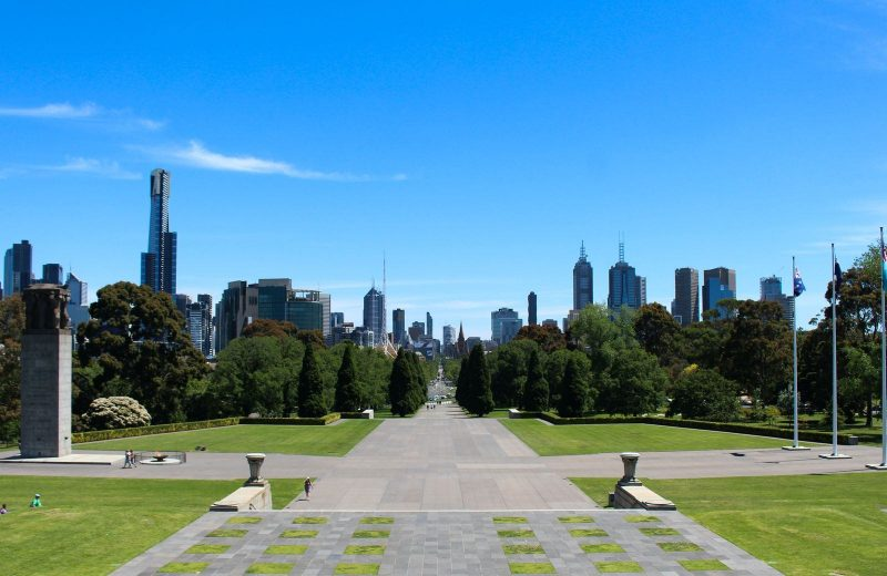 A fun and free thing to do in Melbourne is to hang out at the parks.