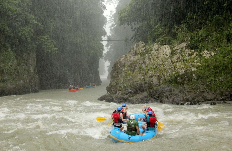 White water rafting is an adrenaline rushing thing to do in Puerto Limon.