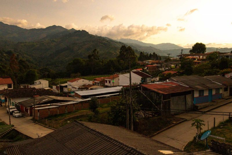 The hotels in Salento, Colombia offer gorgeous views.