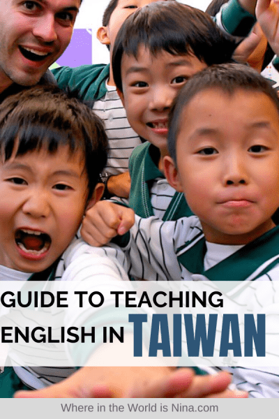 How to Teach English in Taiwan and Save Money