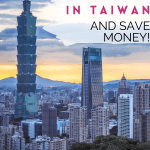 Save Money by Teaching English in Taiwan