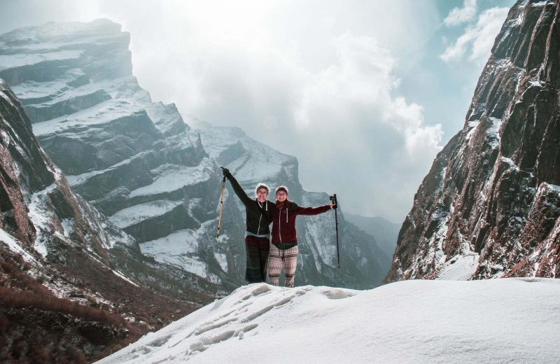 The Annapurna base camp trek is one of the most popular treks in the world.