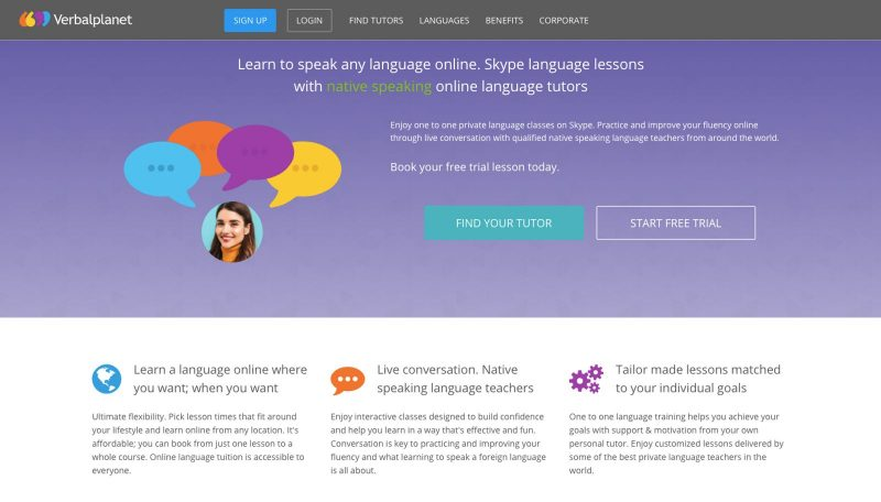 You can teach a language online with Verbalplanet.