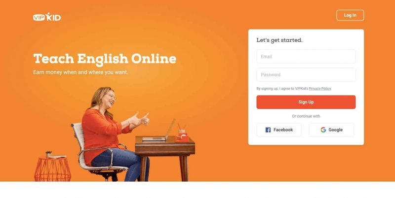VIPKID is a popular way to teach English from home.